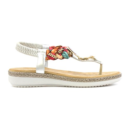 Heavenly Feet , Damen Sandalen Mehrfarbig