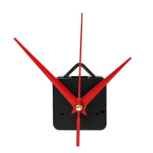 Ularma Movimiento de cuarzo reloj con gancho piezas de BRICOLAJE reparación + manos