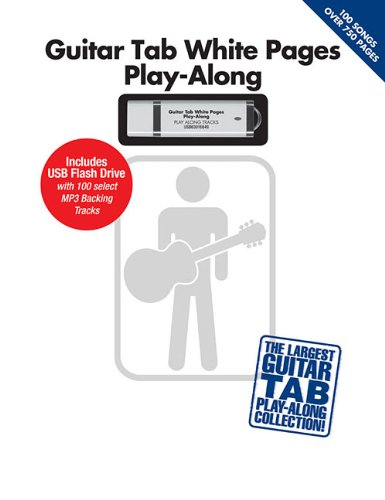 Guitar Tab White Pages Play-Along: Includes USB Flash Drive With 100 Select MP3 Backing Tracks