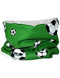 """Niños Tubo """"fútbol"""" verde bufanda de ronda para niños de Pequeño Reyes"""