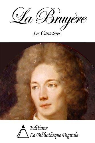 La Bruyère - Les Caractères