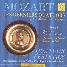 Les Derniers Quatuors à Cordes  Vol.1