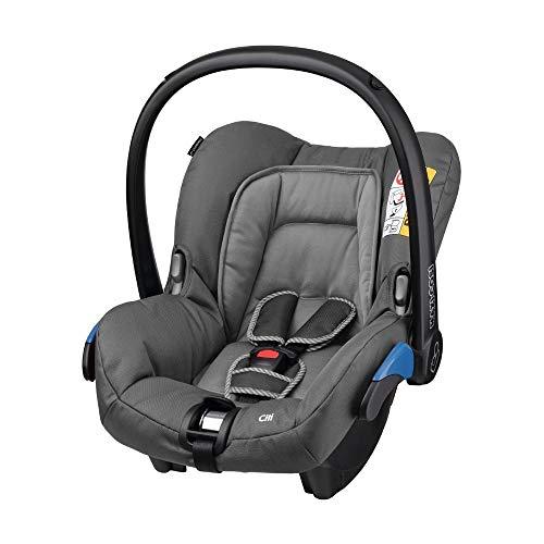 Maxi-Cosi Citi Babyschale, federleichter Baby-Autositz Gruppe 0+ (0-13 kg), nutzbar ab der Geburt bis ca. 12 Monate, Concrete Grey (grau)