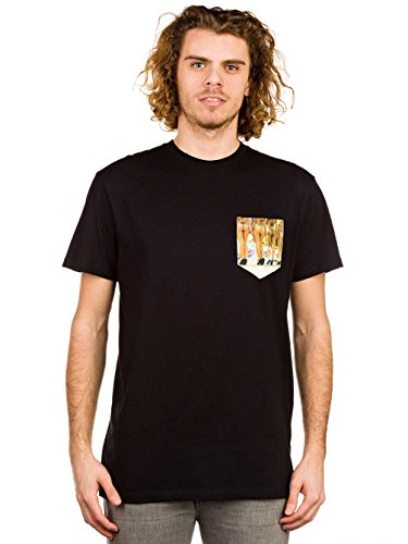 Buns Pocket S/S T-Shirt Nero