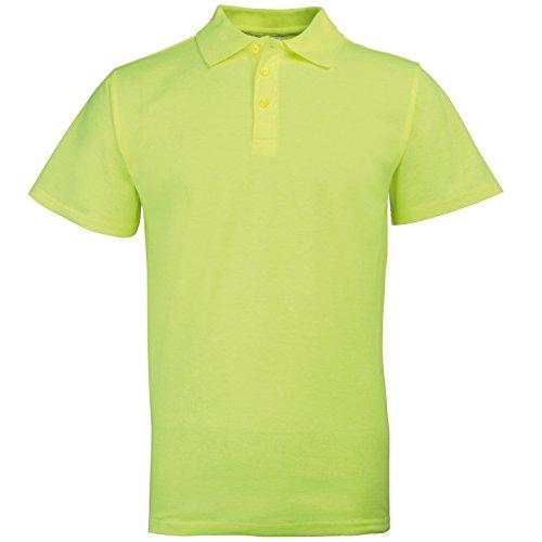 Preisvergleich Produktbild Rty  Damen Herren Unisex Poloshirts Arbeitshemd Gr. XXXX-Large, Gelb - Enhanced Yellow