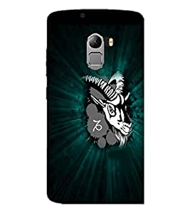 PrintDhaba Animal Image D-4750 Back Case Cover for LENOVO VIBE X3 c78 (Multi-Coloured)