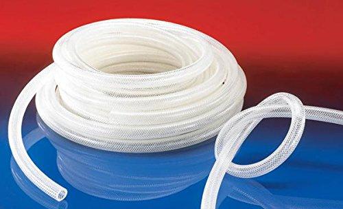 Gewebeverstärkter PVC Druckschlauch, Durchmesser 6 mm, 50 m, 44090600000-0000005000