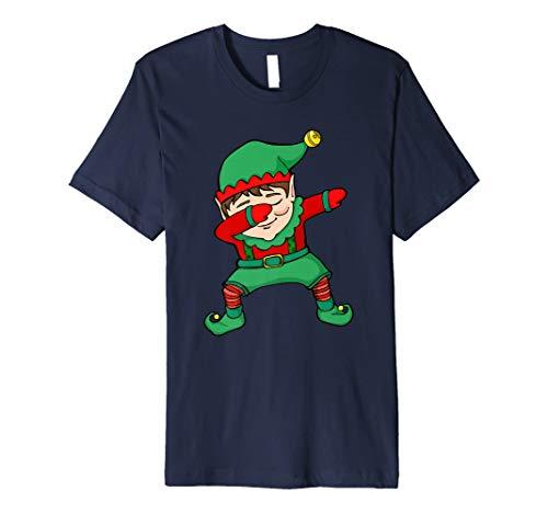 (Funny Sanftes Elf Weihnachten DAB Neuheit Shirt)