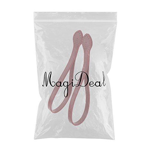 MagiDeal 2 pezzi Accessori Cinghia Della Borsa di Spalla di Donne in 3 Colori - Marrone Vino Rosso