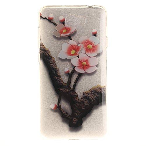 Voguecase® für Apple iPhone 7 Plus 5.5 hülle, Schutzhülle / Case / Cover / Hülle / TPU Gel Skin (Pflaumen 16) + Gratis Universal Eingabestift Pflaumen 16