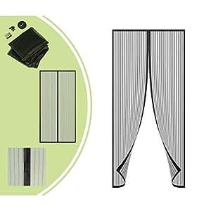 leogreen insektenschutz insektenschutz f r t ren schwarz 220 x 100 cm material magnet. Black Bedroom Furniture Sets. Home Design Ideas