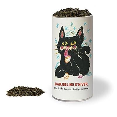 Darjeeling d'hiver - Un thé noir supérieur aux notes d'orange-agrume. LES THÉS DU CHAT®.