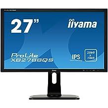 "iiyama ProLite XB2788QS-B1 27"" Wide Quad HD IPS Mate Negro pantalla para PC LED display - Monitor (68,6 cm (27""), 350 cd / m², 2560 x 1440 Pixeles, 5 ms, LED, Wide Quad HD)"