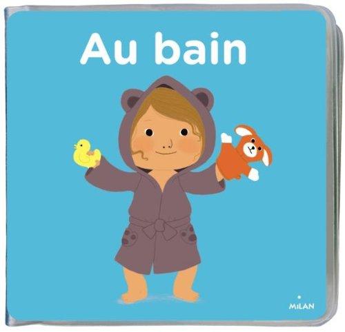Au bain - livre + gant marionnette