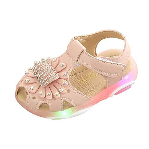 Precioul Baby Mädchen Weiche Sohle Sandalen Rutschfeste Kleid Hochzeit Krippe Schuhe qualitativ hochwertige qualitativ hochwertige Blumen -