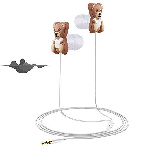 QINPIN 3,5-mm-Cartoon-Tierkopfhörer