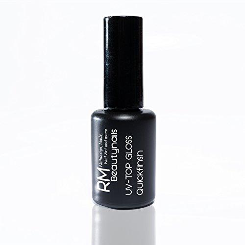 UV-Top Gloss Finish Gel 15ml ohne Dispensionsschicht Quickfinish