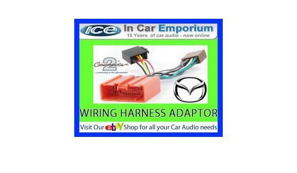 Mazda Premacy CD radio stereo wiring harness adapter lead loom ISO – Rpc Wiring Harness