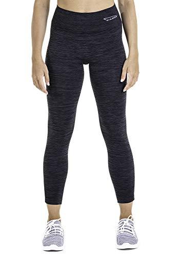 XAED Damen Fitness Kurze Sporthose, Schwarz, Large