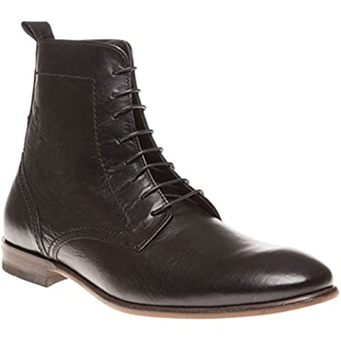 H By Hudson Songsmith Lace Hombre Botas Negro