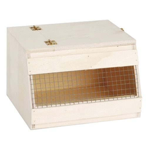 Beeztees 45742 Holz Transportbox, 16 x 14 x 11 cm