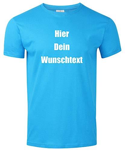 cken mit dem Amazon Tshirt Designer. T-Shirt selber gestalten. T-Shirt Druck. T-Shirt mit Wunschtext. T Shirts sind Ökotex-100 Zertifiziert. - Hellblau M ()
