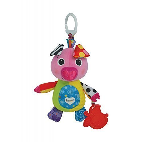 Lively Moments bébé jouet / Jeu éducatif Sina la Porcinet De Lamaze / Clip & FONCE animaux en peluche / ANIMAL en peluche à partir de 0 ans