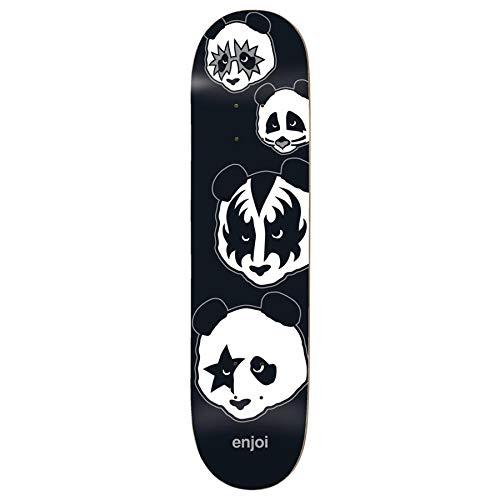 """Enjoi Skateboard Deck Kiss Logo R7 8.0\"""" x 31.6\"""" Skate Deck"""