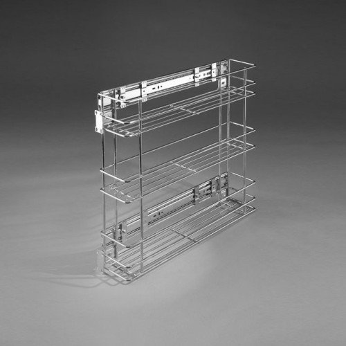 Fermeture douce-pull out kitchen de 200 mm W- 2314 m Chrome-P22 (Pull-out-körbe)
