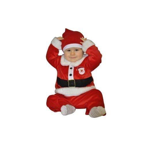 Weihnachtsmannanzug für Kleinkinder 12 - 18 (Sandy Kostüme Kinder Für)
