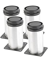 Tradico® 4pcs: Stainless Steel Home Hotel Furniture Chair Table Sofa Cabinet Protector Foot Legs 4pcs