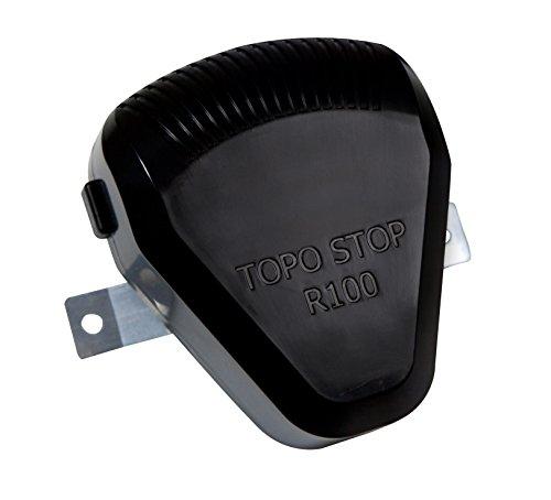 Windhager Rattenvertreiber, Ratten- und Mäusevertreiber Topo Stop R100 für Zwischendecken Hohlräume Dachböden/Vorratsräume, schwarz, 7.2x12.9x12.4 cm, 05035
