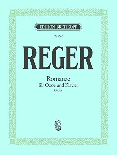 Romanze G-dur Bearbeitung für Oboe und Klavier (EB 4762)