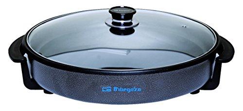 Orbegozo PZ 6636 - Olla paellero, tapa de cristal, diámetro de 36 cm
