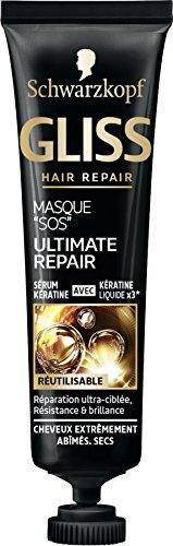 Gliss Schwarzkopf Masque Sos Ultimate Repair Sérum 20 ml - Lot de 3