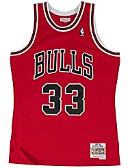 bcb2bc92c Mitchell   Ness Chicago Bulls Scottie Pipen Camiseta sin mangas