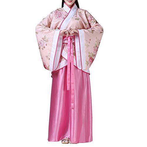 Kostüm Tanz Traditionelle Chinesische - Gtagain Chinesisch Uralt Damen Hanfu - Traditionell Performance Damen Kostüm Elegant Retro Tang Suit Bühne Hanfu Cosplay Kleid Aufführungen