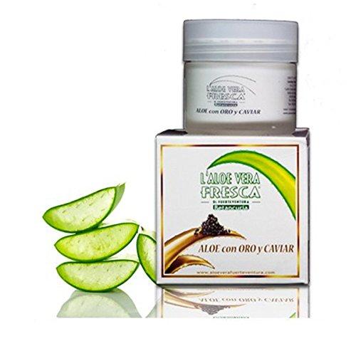 L'Aloe Vera Fresca - Aloe crème or et caviar réduit les rides et les lignes d'expression - 50ml