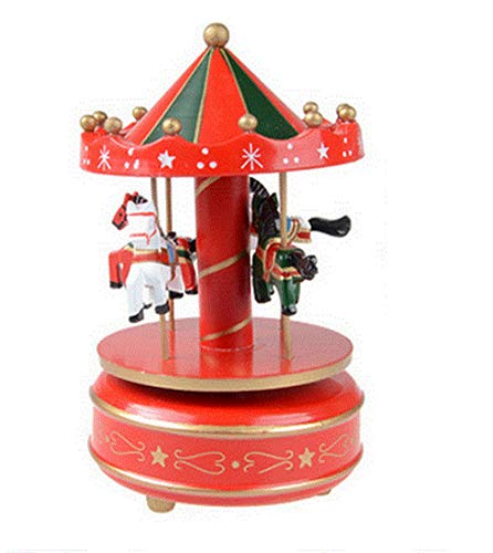 ousel Music Box Eight Sound Box Sky City Children's Day Gift Graduation Student Birthday Present (Song Name: Sky City) ()