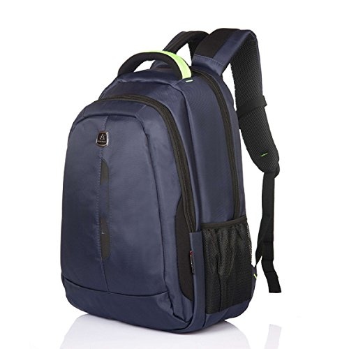 BULAGE Tasche Mode Männer Outdoor Freizeit Schultern Geschäft Wasser Reisen Computer Rucksäcke Studenten Schultaschen Schmutz Blue
