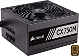 Corsair CX750M Alimentatore PC, Semi Modulare, 80 Plus Bronze, 750 W, EU