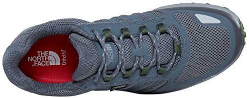 The North Face Litewave Fastpack Gore-Tex, Chaussures de Randonnée Basses Homme Gris (Zinc Grey/green)