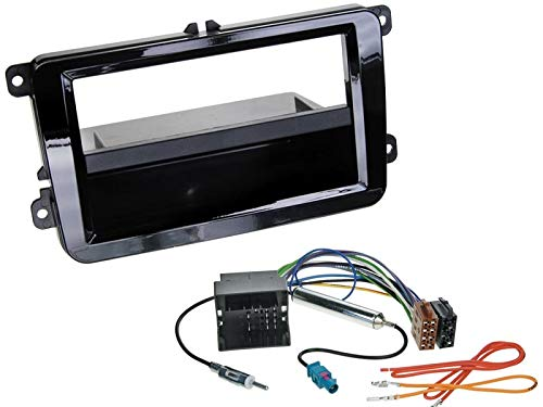 Alpine-CDE-205DAB-1-DIN-Autoradio-mit-DAB-CD-USB-Bluetooth-inkl-Antenne-fr-VW-Beetle-5C1-5C7-ab-2011-Piano-Black