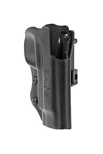 Ghost - Fondina Pistola Ghost Civilian 3G per tiro dinamico IPSC, IASC, FIAS, Porto Occulto e Civile (Beretta APX Destra)