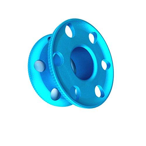 Lega Di Alluminio Scuba Diving Finger Spool Linea Di Guida Per Bobine Di Immersione - Immersioni Subacquee Immersioni Subacquee Snorkeling Attrezzatura Per Immersioni Subacquee-Blu