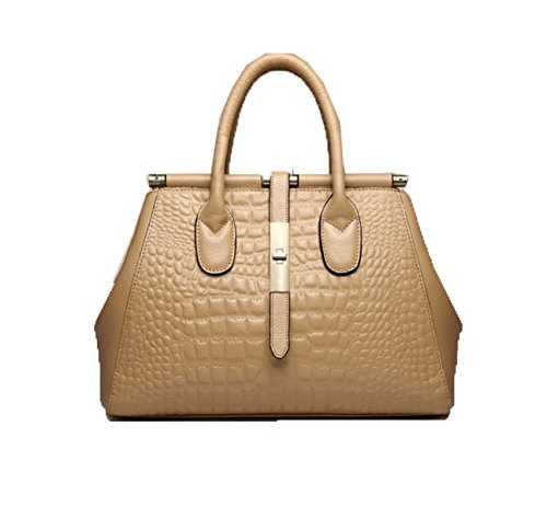 PACK Borse In Pelle Big Bag Ladies Borsa Borsa A Tracolla High End Qualità Dolce Perdita Di Peso,D:Apricot D:Apricot