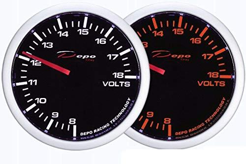 V-Maxzone M-6664 Messgerät für Messgerät WA, 60 mm <BR>- Voltmeter