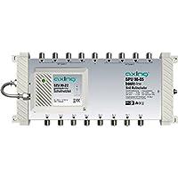 Axing SPU 98-05 DiSEqC Multiswitch 9 a 8 con Amplificatore per SAT