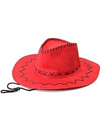 Sombrero - TOOGOO(R)Retro Unisex Sombreros accesorio del vestido de lujo de  Rodeo 53ce2747065