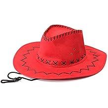 410ab83092095 Sombrero - TOOGOO(R)Retro Unisex Sombreros accesorio del vestido de lujo de  Rodeo